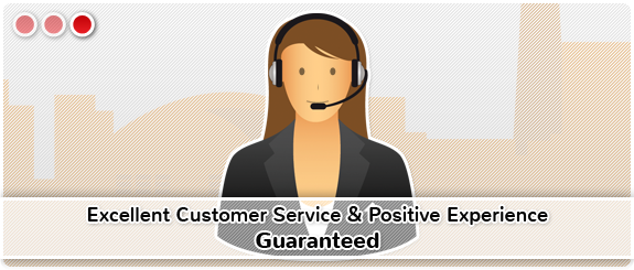 Excellent Customer Service and Positive Experience Guaranteed